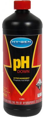 pH down