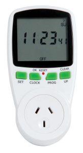 Energy saving meter