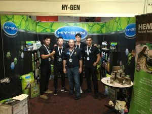 Hy-Gen team at expo